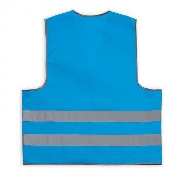 kamizelka wizualizacyjna dla doroslych niebieska kam105.1