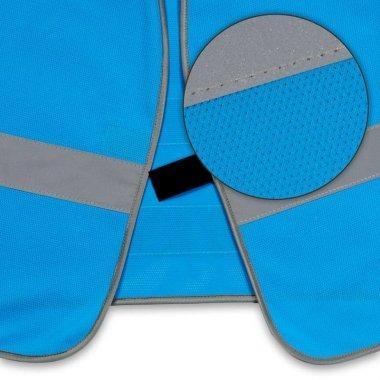 kamizelka wizualizacyjna dla najmlodszych dzieci nr205 niebieska.3