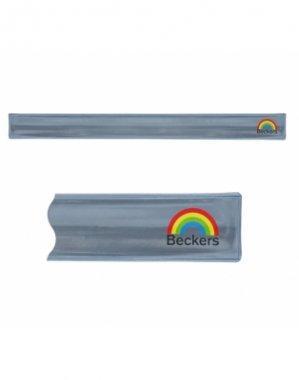 opaska odblaskowa samozaciskowa srebrna nropa001.1