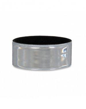 opaska odblaskowa samozaciskowa srebrna nropa001.3