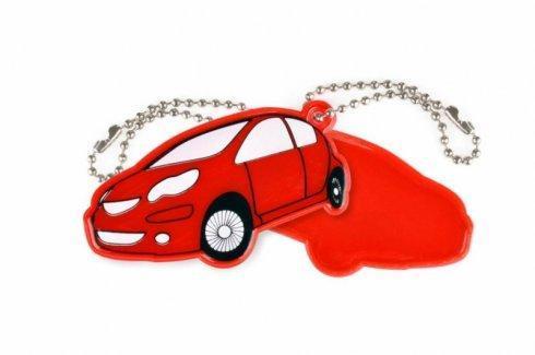 zawieszka miekka auto czerwone zaw39.2
