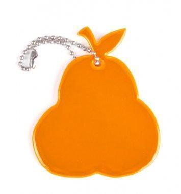 zawieszka miekka gruszka pomaranczowa zaw58