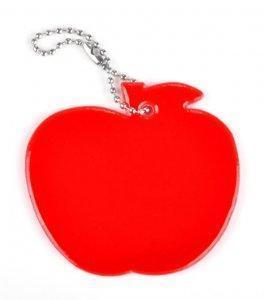 zawieszka miekka jablko czerwone zaw56