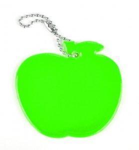 zawieszka miekka jablko zielone zaw94