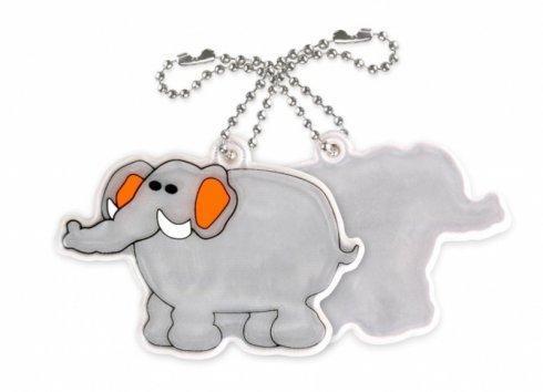 zawieszka miekka slon szary zaw69 2