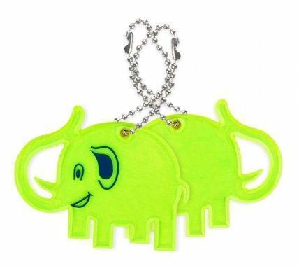 zawieszka miekka slon zolty zaw62