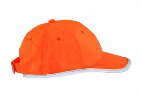 czapka odblaskowa dla dzieci pomaranczowa 1