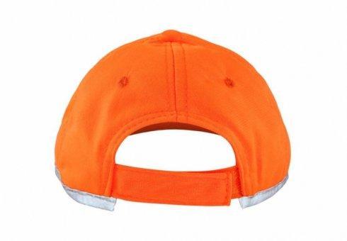 czapka odblaskowa dla dzieci pomaranczowa 2