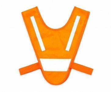 miniszelka v vest dla malych dzieci z gumkami pomaranczowa