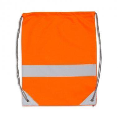 worek odblaskowy na plecy pomaranczowy 1