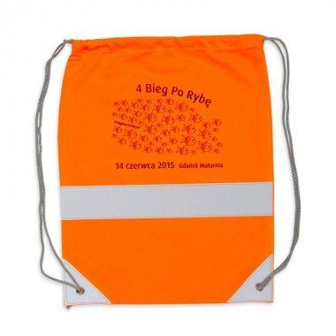 worek odblaskowy na plecy pomaranczowy 3