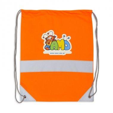 worek odblaskowy na plecy pomaranczowy 4