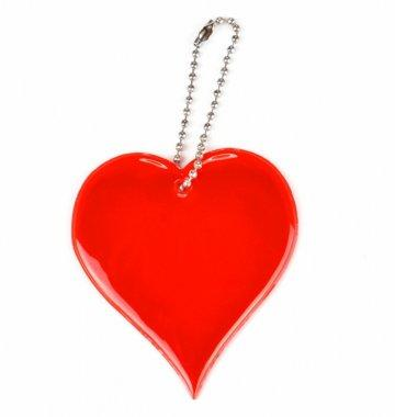 zawieszka miekka serce czerwone zaw40